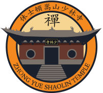 Zhong Yue Shaolin temple logo